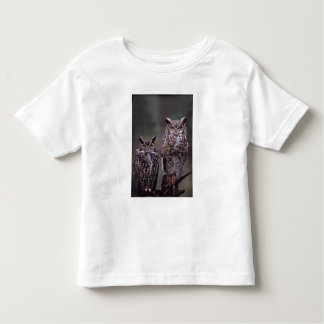 These Great Horned Owls (Bubo virginianus), Toddler T-Shirt