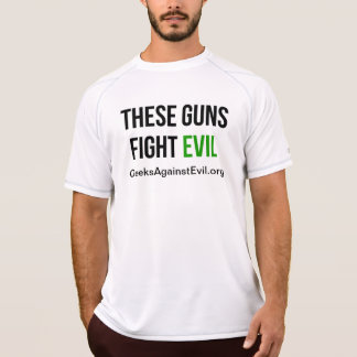 These Guns Fight Evil Sleeveless Shirt