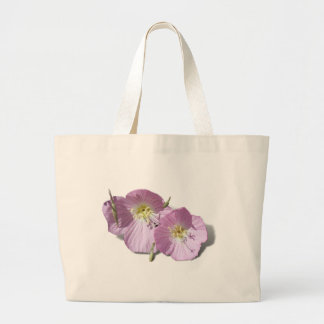 These  Pink Poppies Need Background Color! Bag
