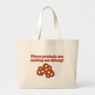 These Pretzels are Making Me Thirsty Canvas Bag