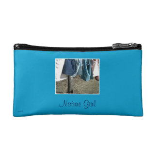These Quiet Seasons March Clothesline Cosmetic Bags