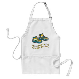 These Shoes Were Made for Running Tshirts Standard Apron