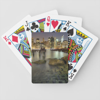 These sticks are in Brooklyn Park Bicycle Playing Cards
