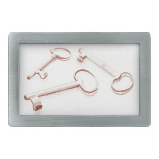 These Three Keys Belt Buckle