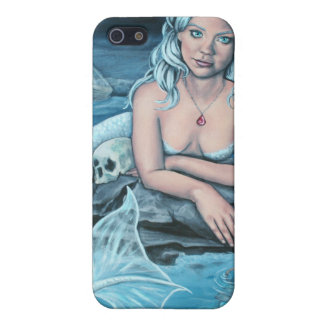 these waters deep mermaid i phone 4 case iPhone 5 case