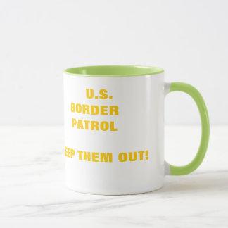 "THESES ARE ""HOT"" U.S. BORDER PATROL MUGS"