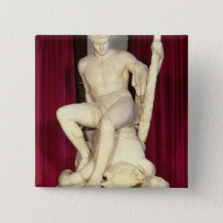 Theseus and the Minotaur, 1782 15 Cm Square Badge