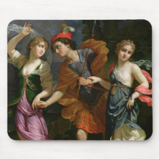 Theseus with Ariadne and Phaedra Mouse Mat