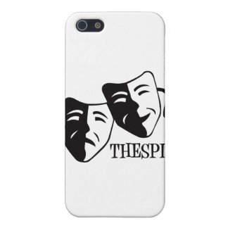 thespian black cover for iPhone 5/5S
