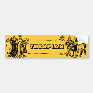 Thespian Bumper Sticker
