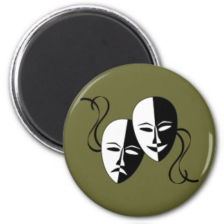 Thespian Masks Magnet