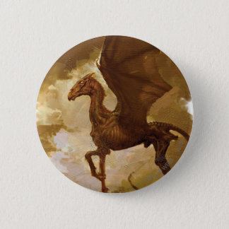 Thestral 6 Cm Round Badge
