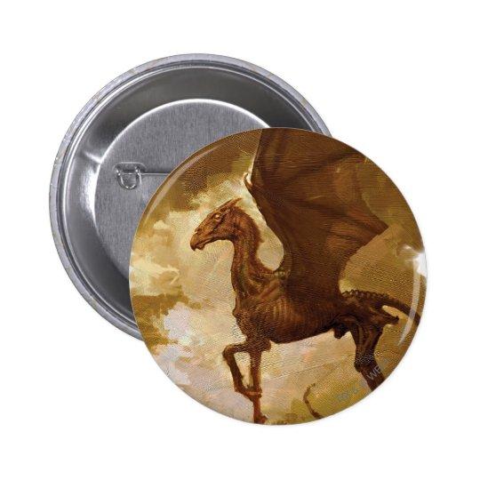 Thestral 6 Cm Round Badge
