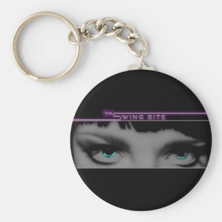 TheSwingSite Key Ring Basic Round Button Key Ring