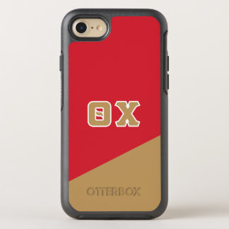 Theta Chi | Greek Letters OtterBox Symmetry iPhone 8/7 Case