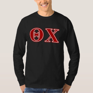 Theta Chi Red Letters T-Shirt