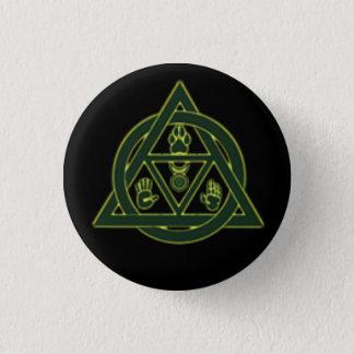 Theta-Delta Therian Otherkin Pin