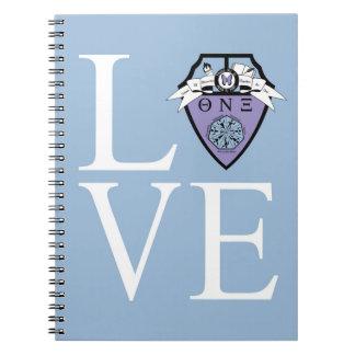Theta Nu Xi LOVE Notebook