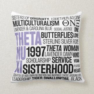 Theta Nu Xi Pillow