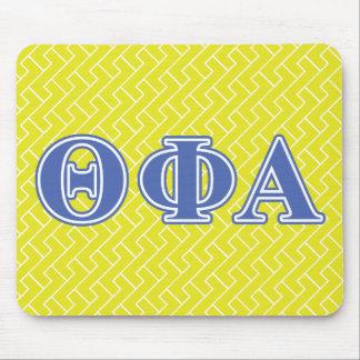 Theta Phi Alpha Blue Letters Mouse Mat