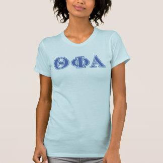 Theta Phi Alpha Blue Letters T-Shirt