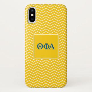 Theta Phi Alpha | Chevron Pattern iPhone X Case