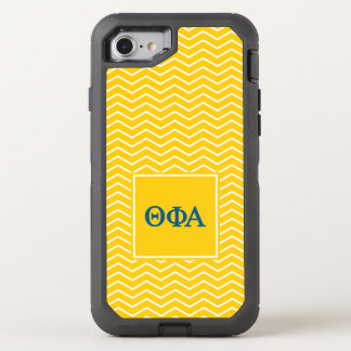 Theta Phi Alpha | Chevron Pattern OtterBox Defender iPhone 7 Case