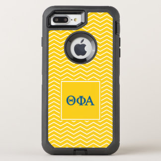 Theta Phi Alpha | Chevron Pattern OtterBox Defender iPhone 7 Plus Case
