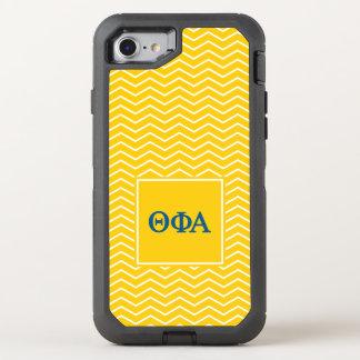 Theta Phi Alpha | Chevron Pattern OtterBox Defender iPhone 8/7 Case