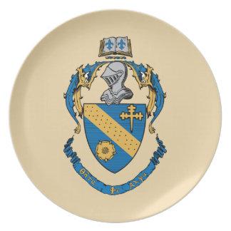Theta Phi Alpha Coat of Arms Plate