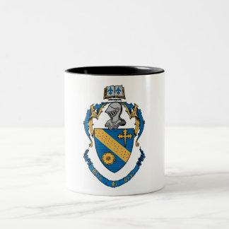 Theta Phi Alpha Coat of Arms Two-Tone Coffee Mug
