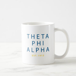 Theta Phi Alpha Modern Type Coffee Mug