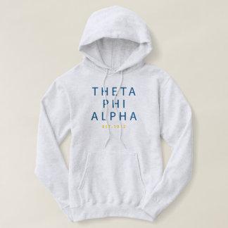 Theta Phi Alpha Modern Type Hoodie
