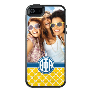 Theta Phi Alpha | Monogram and Photo OtterBox iPhone 5/5s/SE Case
