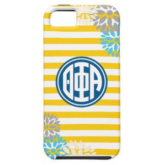 Theta Phi Alpha | Monogram Stripe Pattern iPhone 5 Case