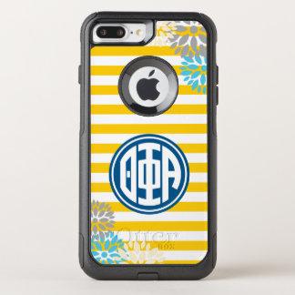 Theta Phi Alpha | Monogram Stripe Pattern OtterBox Commuter iPhone 8 Plus/7 Plus Case