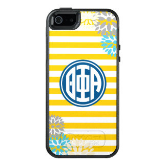 Theta Phi Alpha | Monogram Stripe Pattern OtterBox iPhone 5/5s/SE Case