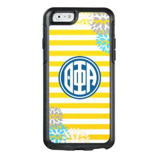 Theta Phi Alpha   Monogram Stripe Pattern OtterBox iPhone 6/6s Case