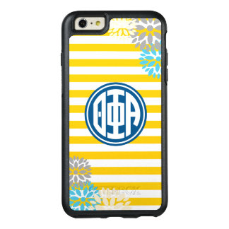 Theta Phi Alpha | Monogram Stripe Pattern OtterBox iPhone 6/6s Plus Case