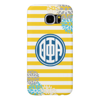 Theta Phi Alpha | Monogram Stripe Pattern Samsung Galaxy S6 Cases