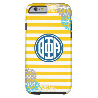 Theta Phi Alpha | Monogram Stripe Pattern Tough iPhone 6 Case