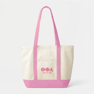 Theta Phi Alpha Pink Letters Impulse Tote Bag