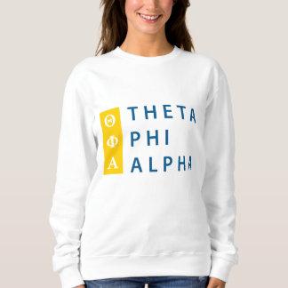 Theta Phi Alpha Stacked Sweatshirt