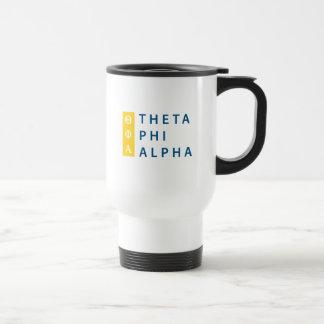 Theta Phi Alpha Stacked Travel Mug