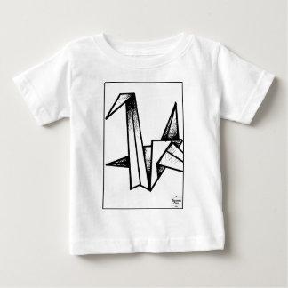 TheTwentyOneBrand Paper Swan Baby T-Shirt