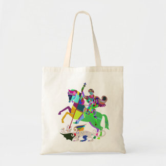 They are Jorge and the Dragon Tote Bag