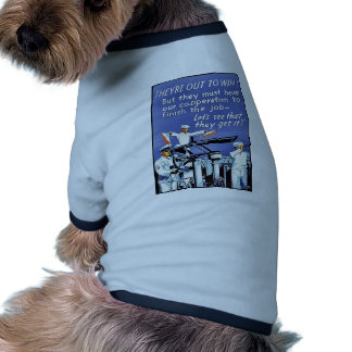 They Are Out To Win! Pet Tshirt