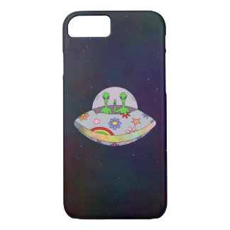 They Come in Peace UFO iPhone 8/7 Case