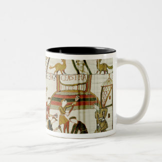 They construct the fortifications Two-Tone coffee mug