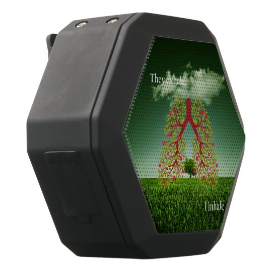 They exhale, I inhale Black Bluetooth Speaker